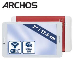 Multimedia-Tablet-PC Core 70 3G V2 • Quad-Core-Prozessor (bis zu 1,3 GHz) • 2 Kameras (0,3 MP/2 MP) • microSD™-Slot bis zu 32 GB • Android™ 7.0
