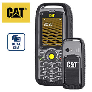 Outdoorhandy Cat® B25 • Quadband GSM • Kamera • microSD™-Slot bis zu 8 GB