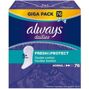 Always dailies fresh & protect Slipeinlagen normal Giga Pack