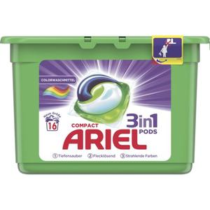 Ariel 3in1 PODS Colorwaschmittel – 16 WL 0.25 EUR/1 WL