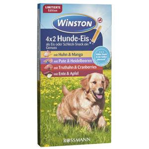 Winston 4x2 Hunde-Eis 1.49 EUR/100 g
