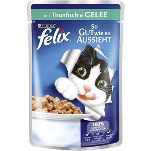 Felix So gut wie es aussieht mit Thunfisch in Gelee (20 x 100.00g)