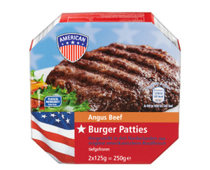 AMERICAN Burger Patties