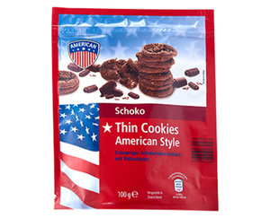 AMERICAN Thin Cookies