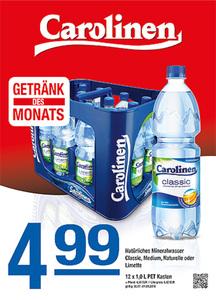 Carolinen Natürliches Mineralwasser