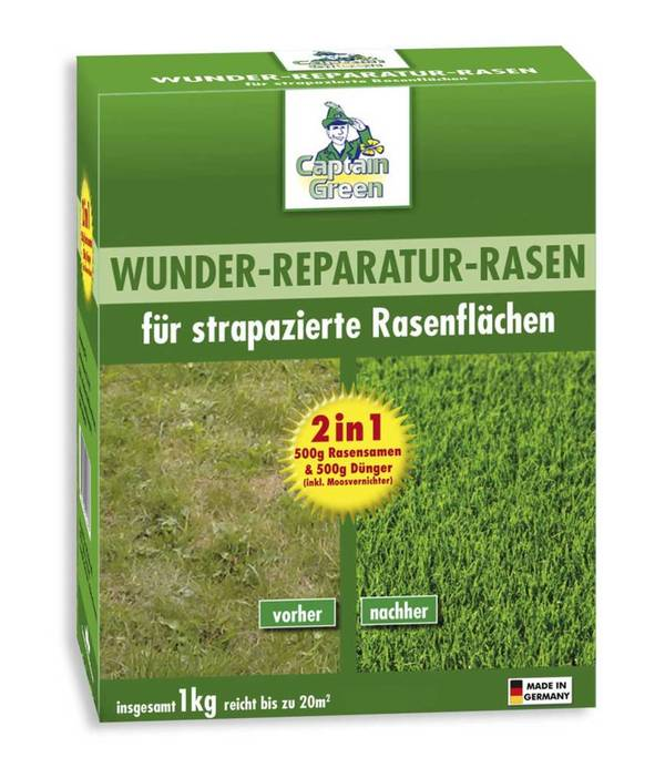 Wunder-Reparatur-Rasen, 1 kg Captain Green