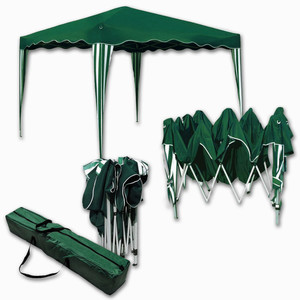 Falt-Pavillon »Easy-Up« 3 x 4 m grün-weiß
