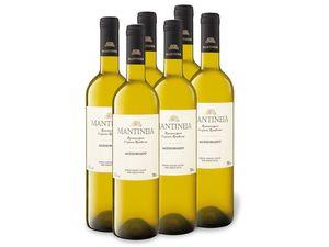 6 x 0,75-l-Flasche Weinpaket Mantineia P.O.P. Moschofilero, Weißwein