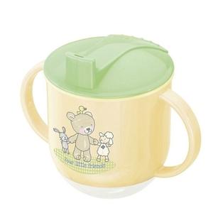 Rotho Babydesign - Trinklernbecher Beste Freunde vanille, 150 ml