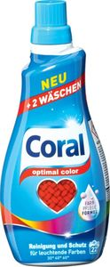 Coral Optimal Color, 22 Waschladungen