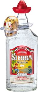 Sierra Tequila Silver 0,7 Liter + Gratis Salzstreuer