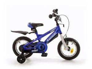 Kawasaki Kinderfahrrad  KRUNCH 12 Zoll mit Stützrädern