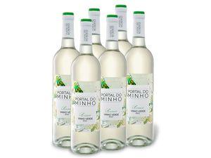 6 x 0,75-l-Flasche Weinpaket Portal do Minho DOC Vinho Verde, Weißwein