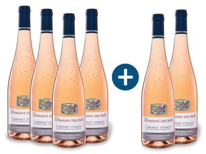 4+2 x 0,75-l-Flasche Domaine Des Iris Cabernet d'Anjou AOP lieblich, Roséwein