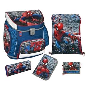 Scooli - Spider-Man: Ranzenset Campus Up, 5-tlg.