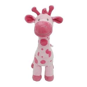 Animal Alley - Stehende Giraffe, rosa, ca. 33 cm