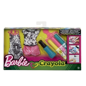 Barbie - Loves Crayola: Batik-Mode 1 (FPW13)