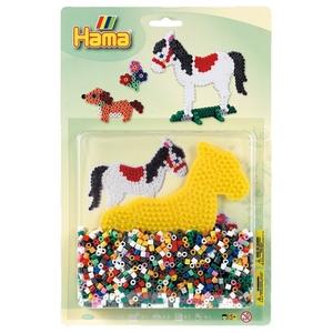 HAMA - Bügelperlen: Pferd