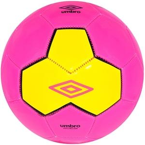Umbro - Fußball, Größe 5, Pink-Gelb