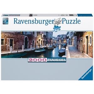 Ravensburger - Panorama Puzzle: Venedig am Abend, 2000 Teile