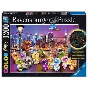 Ravensburger - Color Starline Puzzle: Gelini: Pier Party, 1200 Teile