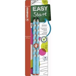 STABILO - EASYgraph: Bleistift HB, blau, 2-tlg.