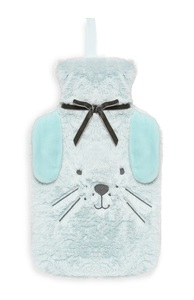 Blaue Hasen-Wärmflasche