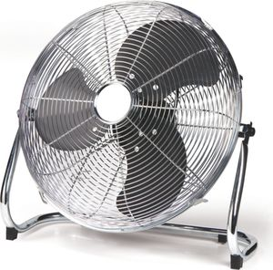 Domo DO8131 Bodenventilator 40 cm, Chrom