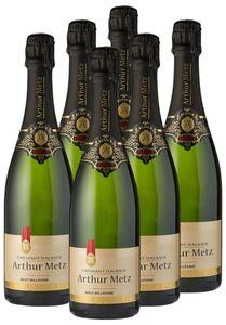 Arthur Metz Cremant d'Alsace - 6 x 0,75 Liter