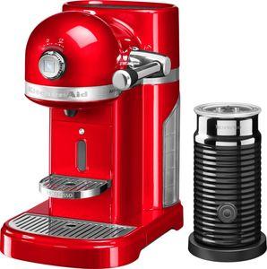 """KitchenAid Artisan 5KES0504 Nespresso Kaffeemaschine inkl. Milchaufschäumer """"Aeroccino"""", rot"""