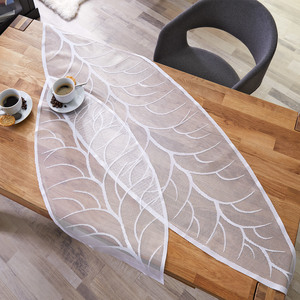 Tischdeko Blattdesign (Läufer, 45x150)