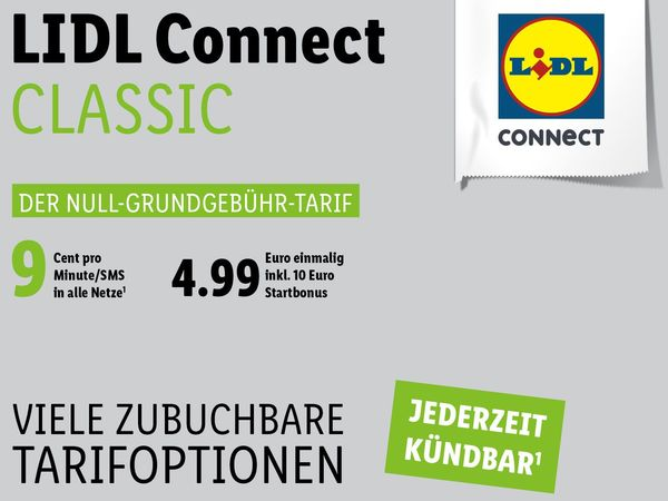 LIDL Connect Starterpaket CLASSIC