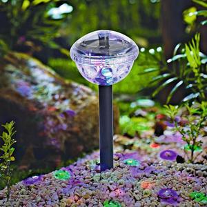 """FLECTOR                 LED-Solar-Dekostick """"Disco"""" 10x34 cm, Kunststoff"""