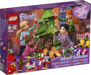 LEGO® Friends 41353 - Adventskalender mit Weihnachtsschmuck