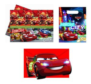 Disney Cars Neon City Partyzubehör Set