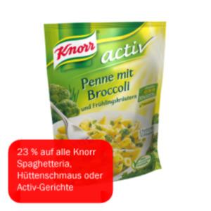 Knorr activ Penne mit Broccoli
