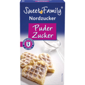 Sweet Family Nordzucker Puderzucker