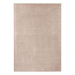 Teppich Uni Pure - Kunstfaser - Beige meliert - 140 x 200 cm, Hanse Home Collection