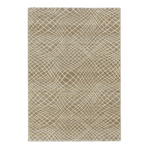 Teppich Carpi - Kunstfaser - Beige / Weiß - 133 x 190 cm, Astra