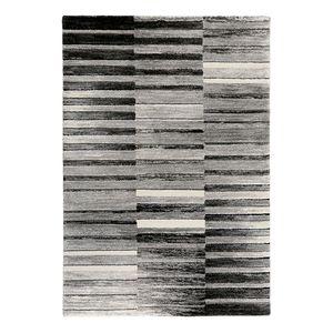 Teppich Wild Stripes - Kunstfaser - Grau / Beige - 200 x 290 cm, Esprit Home