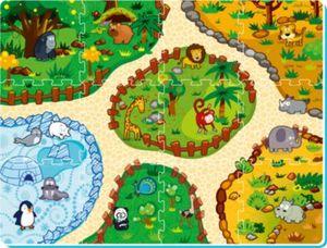 interaktive Puzzlematte Zoolandschaft inkl. App