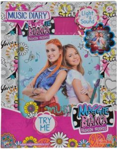 Maggie & Bianca Fashion Friends Musik Tagebuch