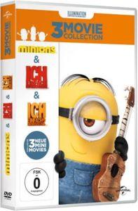 DVD Minions - Boxset (Ich - Einfach unverbesserlich 1&2 / Minions)