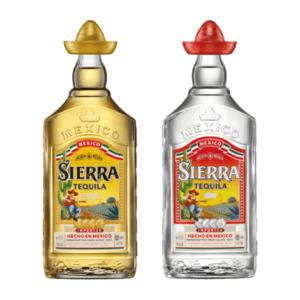 Sierra Tequila silver / reposado