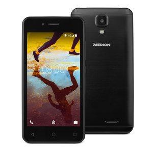 MEDION LIFE® E4507, 11,43 cm (4,5'') Display, Android™ 7.0 Nougat, 16 GB Speicher, Quad-Core Prozessor, LTE, Dual-SIM