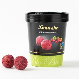 Bio-Fairtrade Cranberry-Trüffel 6,80 € / 100g