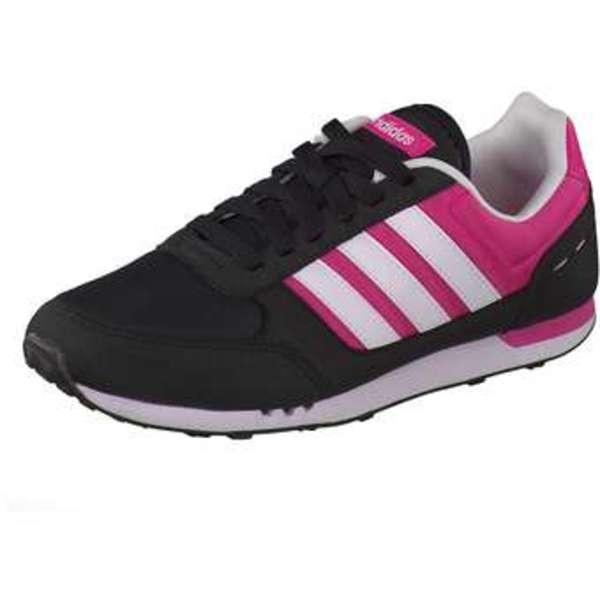 adidas City Racer W Sneaker Mädchen schwarz
