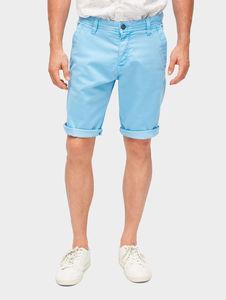 Tom Tailor Hosen & Chino Josh Regular Slim Bermuda Shorts, Heritage Light Blue, 31