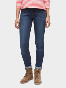 Tom Tailor Jeanshosen Alexa Slim Jeans, dark stone wash denim, 30/30