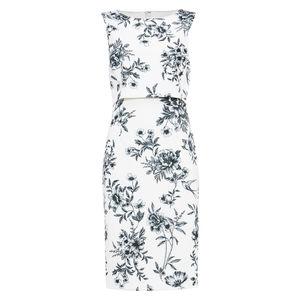 Phase Eight Damen Kleid Romily , weiß/navy, 34
